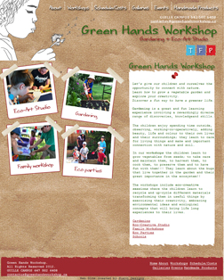 Green Hands Workshop - Eco art and gardening clases in Oakville and Mississauga